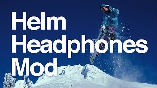 Video How to mod Headphones Into a Snowboard Helmet download MP3, 3GP, MP4, WEBM, AVI, FLV Agustus 2018