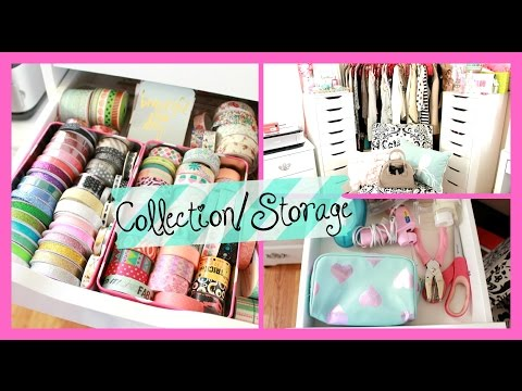 Office Crafting Storage/Collection: Washi Tape, Stickers, and scrapbooking   Belinda Selene