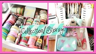 Office Crafting Storage/Collection: Washi Tape, Stickers, and scrapbooking | Belinda Selene