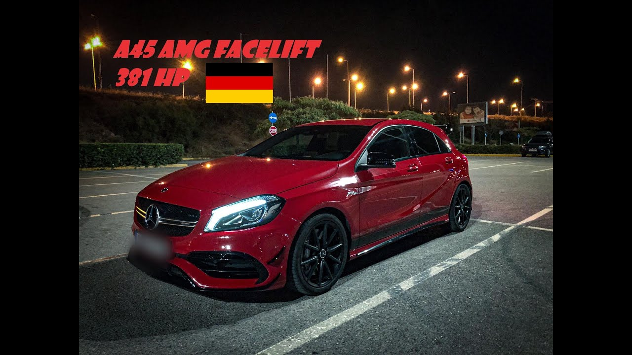MERCEDES A45 AMG FACELIFT ΜΕ 381 ΑΛΟΓΑ ! DAILY WEAPON...