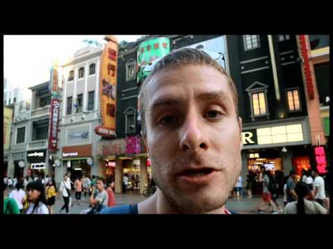 Cultural park Shopping Street in Guangzhou China - Cheap Shopping and Super Cheap Seafood