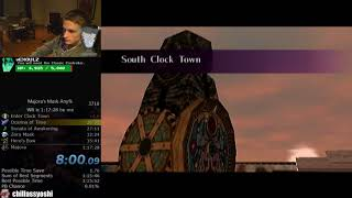 The Legend of Zelda: Majora's Mask Any% Speedrun World Record (1:17:15)