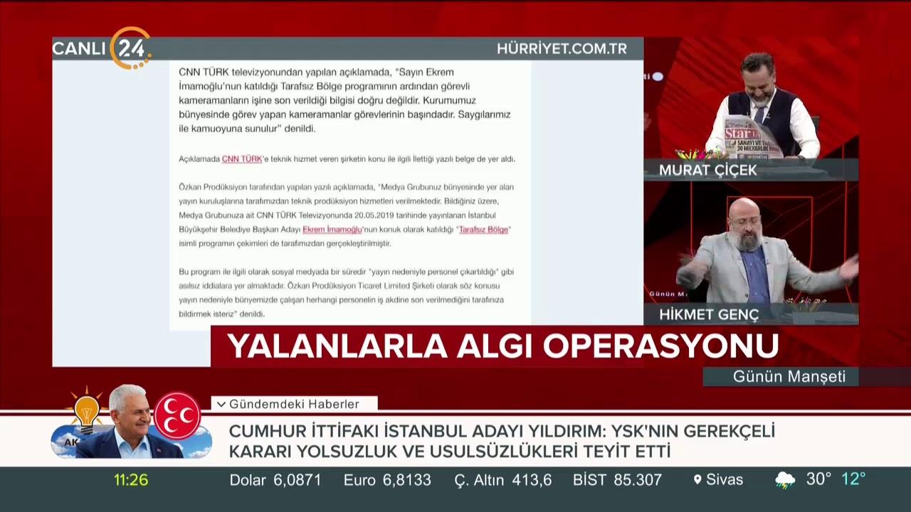CNN Türk'ten '4 kameraman' açıklaması