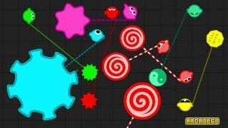 Zlap.io New Addicting Multiplayer Game Similar to Agar.io/Diep.io/Slither.io ( Zlap.io Live Stream )