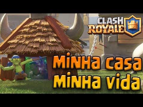 MINHA CASA, MINHA VIDA: VÁRIAS CABANAS, PARECE UMA FAVELA – CLASH ROYALE