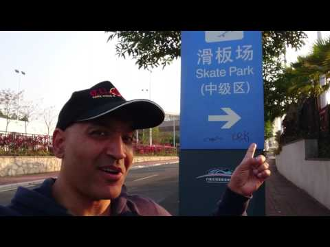 A TOUR OF THE WORLD'S LARGEST SKATEPARK IN GUANGZHOU