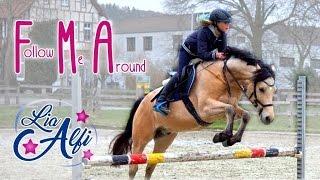 Lia & Alfi - FMA am Stall - Springen und so ;-D