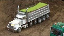 WESTERN STAR 4900 Dump Truck, Milwaukee RC SUPER TRUCK TAMIYA PIECES