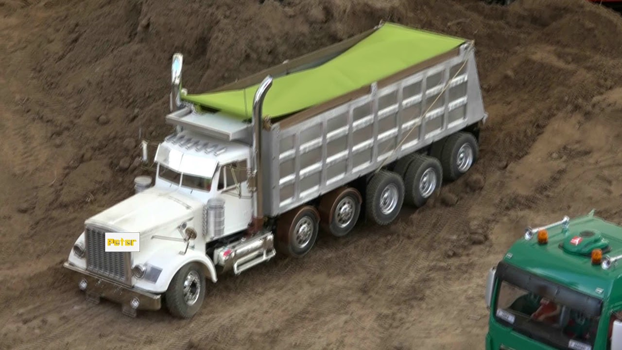 #WESTERN STAR 4900 Dump Truck, #Milwaukee RC SUPER TRUCK