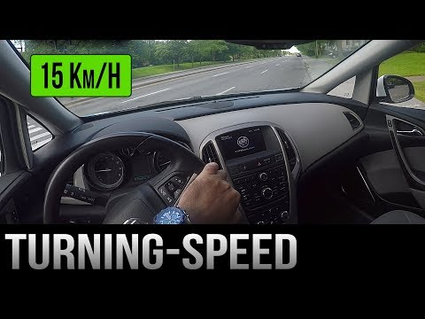 How to Adjust Your Speed When Turning
