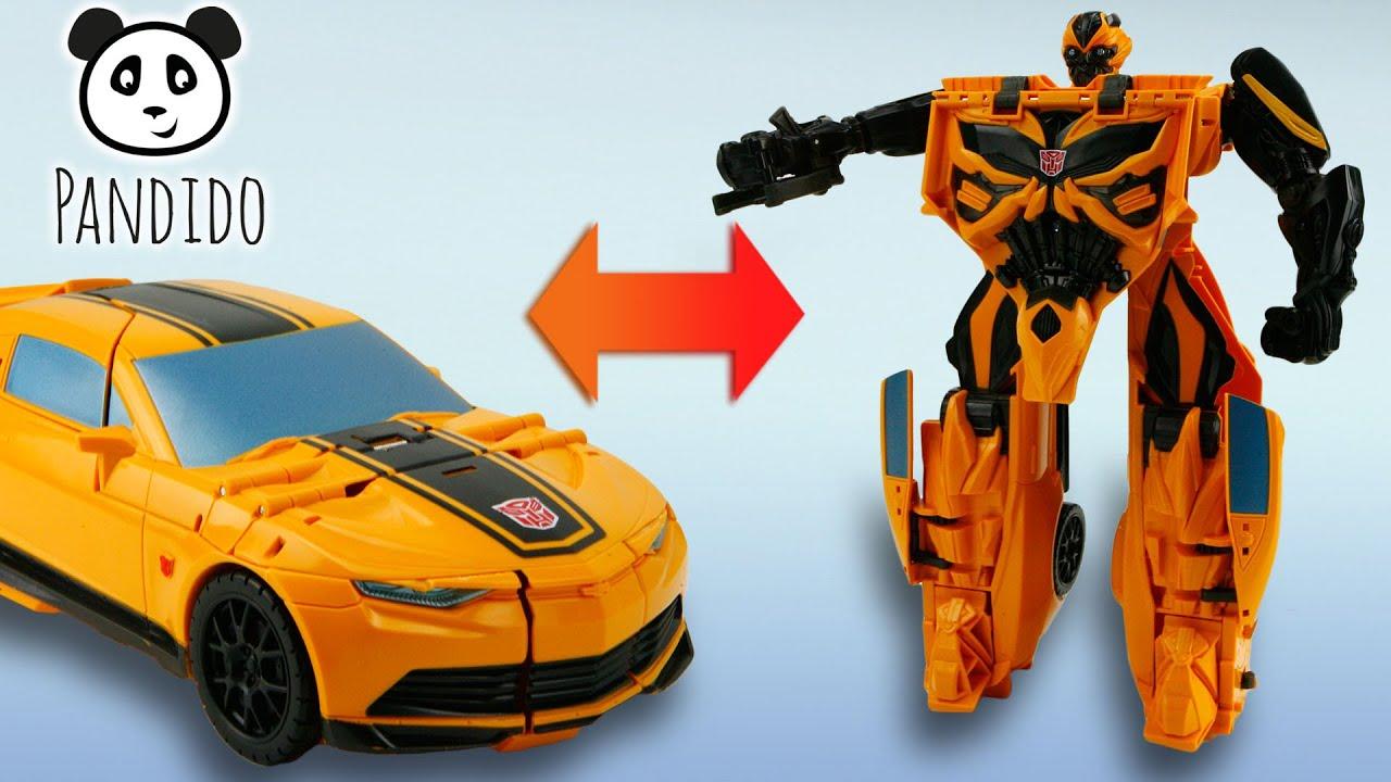 Transformers mega flip bumblebee action figur spielzeug