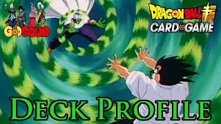 World Tournament Goku Deck Profile - Dragon Ball Super Card Game w/Master MariK
