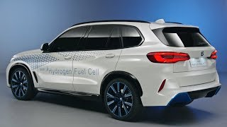 BMW i Hydrogen NEXT SUV - BMW X5 With Hydrogen Fuel Cell Unveiled