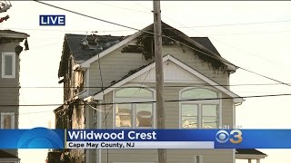 3-Alarm Fire Damages 2 Homes In Wildwood Crest