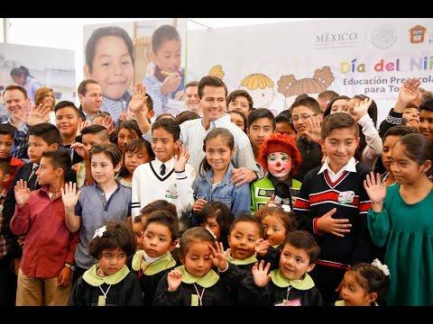 Día del Niño. Educación Preescolar para Todos
