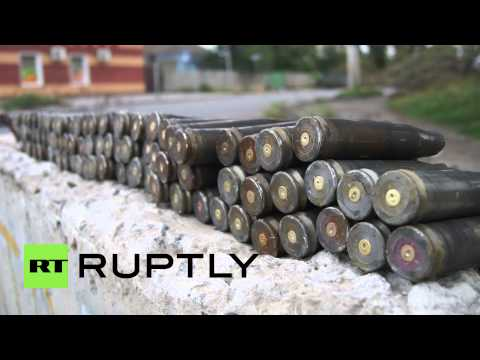 Ukraine: Slavyansk riddled with the scars of battle
