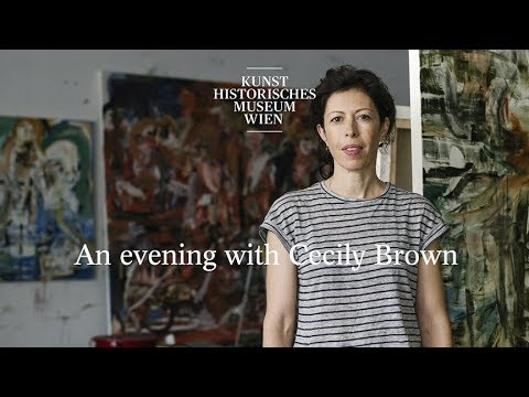 An evening with Cecily Brown  - Contemporary Talks Kunsthistorisches Museum Wien