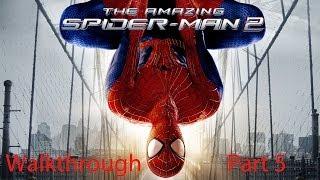 The Amazing Spiderman 2 Walkthrough Part 5: Into the Lions Den