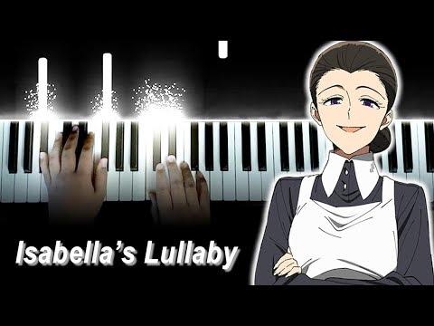 Yakusoku No Neverland Episode 12 Finale OST - Main Theme / Isabella's Lullaby (Piano)