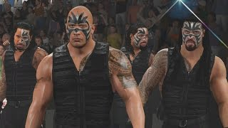 WWE 2K16 Mods - The Rock Joins The Samoan Shield