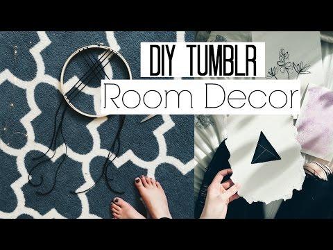 DIY Tumblr Room Decor! UO & Free People Inspired!