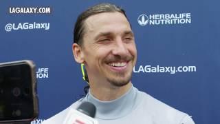 Zlatan Ibrahimović talks World Cup, Paul Pogba and the LA Galaxy's form