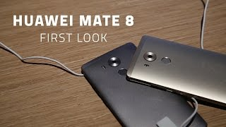 Huawei Mate 8 - First Look