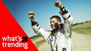Red Bull Stratos Space Jump and Top 5 Videos for 10/15/12