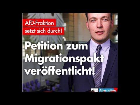 Petition auf bundestag.de gegen Zuwanderungspakt unterschreiben! Gnädigerweise veröffentlicht!