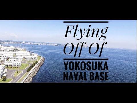 Drone Flight off of Yokosuka, Japan