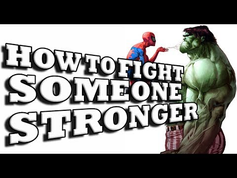 How to Fight a Stronger Opponent 1/3: Explosiveness