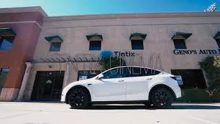 Tesla Model Y Window Tinting