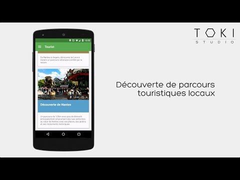 Demo - Application Mobile pour Parcours Touristiques
