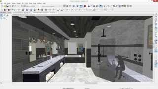 Chief Architect Steam-relax Bathroom Demonstration