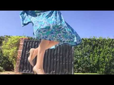 Windy day with my silk dress! thumbnail