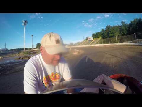jr 3 limerock speedway flip 7/28/17