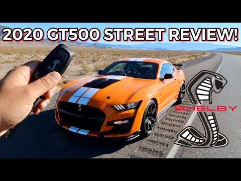 2020 SHELBY GT500 Encounters HELLCAT & Z06 on 1st Drive!