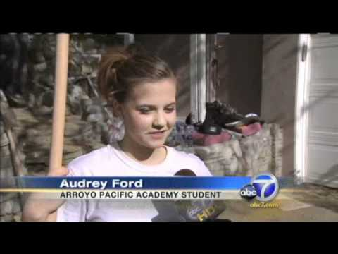 Arroyo Pacific Academy students lend a hand