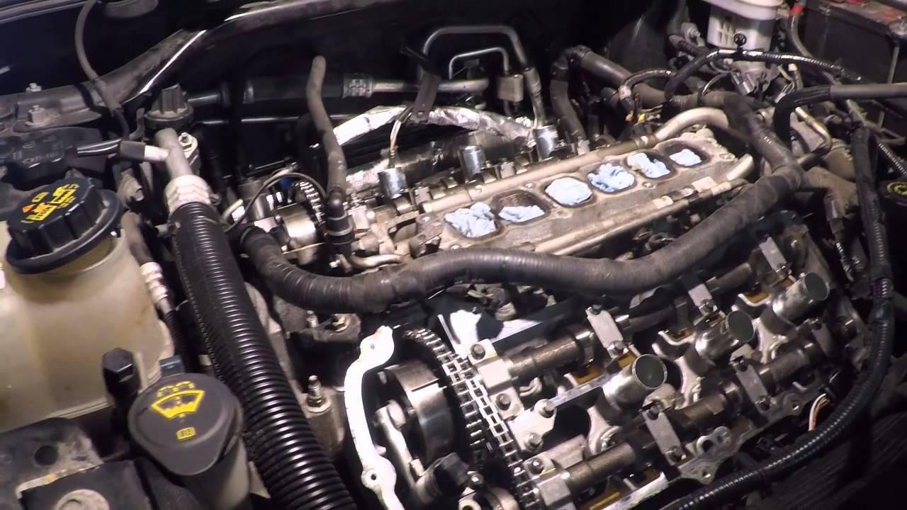 Part 2 Ford Flex oil leak, coolant loss, P0016 water pump