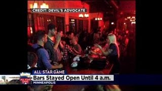 Minneapolis Bars Open Late For All-Star Partyers