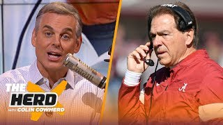 Colin lists 5 reasons why Nick Saban could leave Alabama for the Dallas Cowboys | NFL | THE HERD