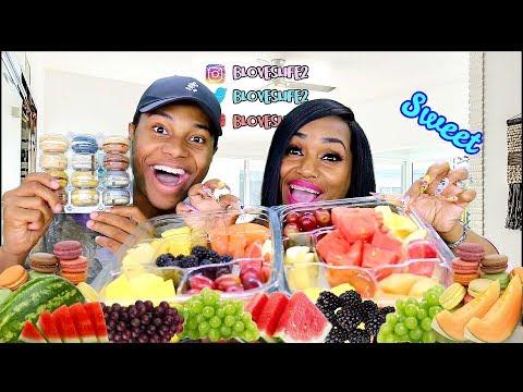 Fruit Mukbang with Darius (Hilarious)
