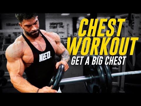 CHEST WORKOUT for MASS & SHAPE UNDERCONSTRUCTION SERIES 1