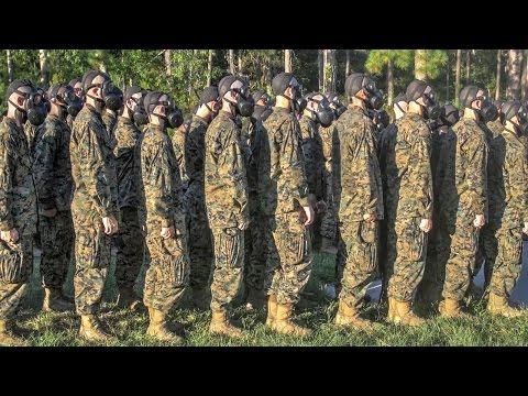 United States Marine Corps Recruit Training — Gas Chamber