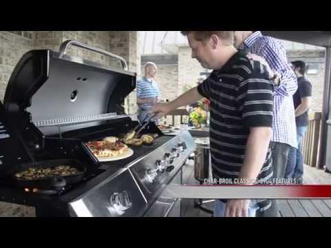 char broil classic 5 burner gas grill
