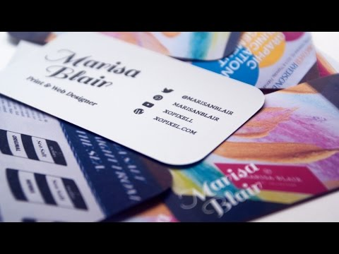 Make Your Own Business Cards To Print At Home For Free