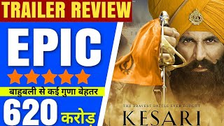 Kesari | Official trailer Review | Kesari trailer Review,Kesari Trailer Reaction, Akshay Kumar,