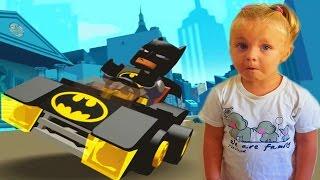 Лего Бетмен игра как мультик для детей