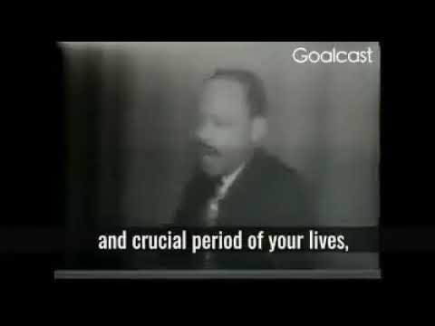 Dr. Martin Luther King Jr. Speech