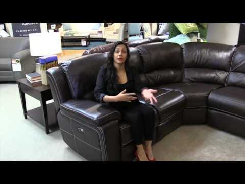 Leather sectional, power recliners, sofa, love seats, Furniture Orlando, Hudson's Furniture